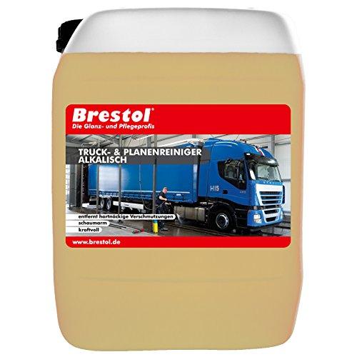 Brestol Truck- & Planenreiniger alkalisch 5 Liter - Truckreiniger Plastikreiniger Sprühreiniger HD-Reiniger Kraftreiniger Zeltreiniger Konzentrat