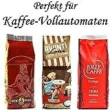 Probierset Crema für Kaffeevollautomaten 3x500g
