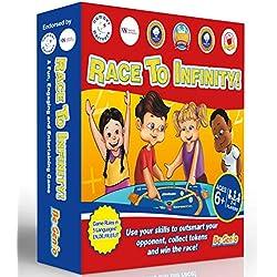 Juegos de Matemáticas para niños, Juego de Matemáticas Mentales para Niños - FUN Juego de mesa de Matemáticas, Tablas de multiplicar tiempos, División, Suma, Resta - Edades 6,7,8,9,10,11,12,13 Años