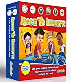 Maths Games for kids, KS2, KS1, KS3 - FUN Math Board Game with dice, for Children to increase Confidence - Perfect for Times Tables, Addition, Subtraction, Multiplication - Rules in 1 Language