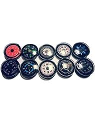 50 Pièces Mini Compas Boussole 2cm pêle-mêle
