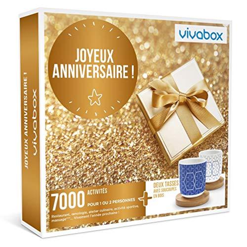 Vivabox - Coffret cadeau anniversaire - JOYEUX ANNIVERSAIRE ! - 7000 activités au...