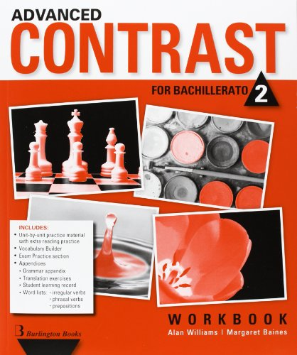 Advanced Contrast For Bachillerato 2. Workbook - 9789963489060