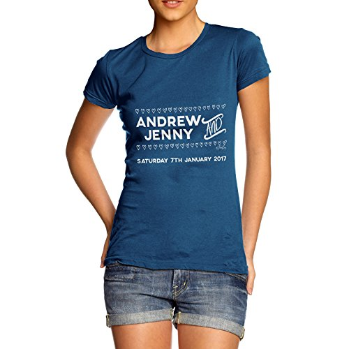 TWISTED ENVY  Damen T-Shirt Königsblau