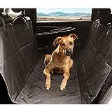 aLLreLi Autoschondecke Hunde Hängematten für Autos, Trucks und SUVs - Wasserdicht, rutschsicher, Schwarz