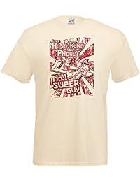 Hong Kong Phooey T-Shirt. No1 Super Guy tee shirt apparel clothing kids tv retro gift Hanna Barbera