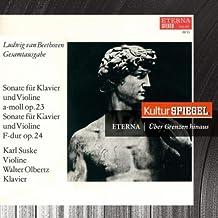 Beethoven: Sonata for Piano and Violin (KulturSpiegel - Eterna - Über Grenzen Hinaus)