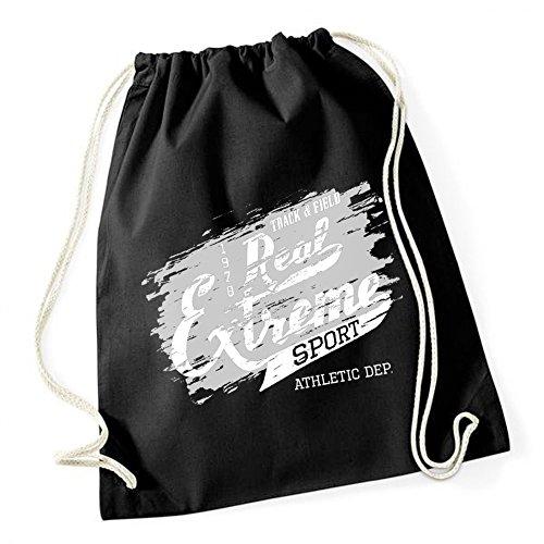 Real Extrem Sport Sac De Gym Noir Certified Freak
