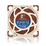 Bénéficiant d'une conception aérodynamique avancée incluant les Flow Acceleration Channels et le cadre AAO Noctua, le Noctua NF-A4x20 est un ventilateur silencieux haut de gamme hautement optimisé au format 40x20mm. La version FLX permet d'atteindre ...