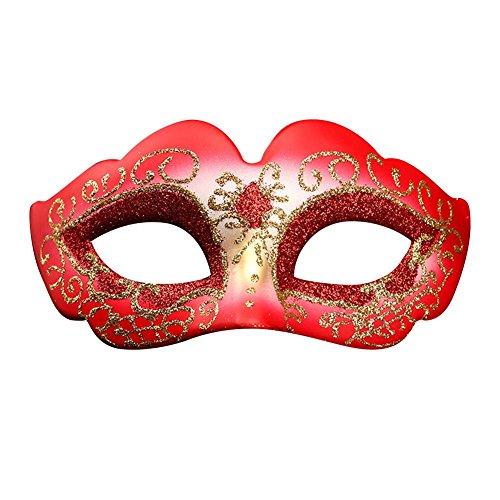 rebirthesame Halloween Dekoration Maskerade Party Maske weiblich bemalte Prinzessin Party Dress Up Party Maske