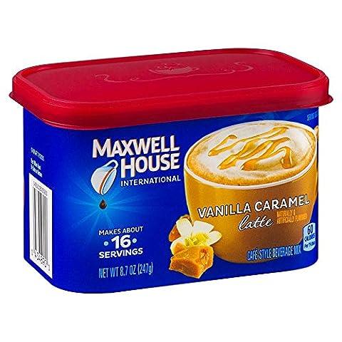 Maxwell House International Coffee Vanilla Caramel Latte aus den USA