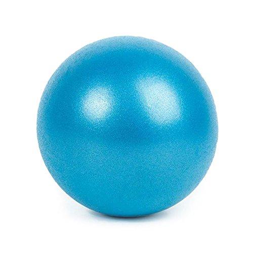 SMARTrich - Palla dimagrante per fitness, yoga, pilates, interni, 25 cm, blue, 1*1*1cm