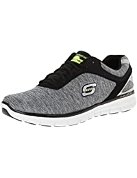Skechers Synergy Instant Reaction 51189 LGBK - Zapatillas de lona para hombre