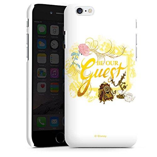 Apple iPhone X Silikon Hülle Case Schutzhülle Die Schöne und das Biest Disney Madame Pottine Von Unruh und Lumière Premium Case matt