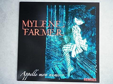 Mylene FARMER Maxi 45Tours vinyle Promo Appelle Mon Numéro