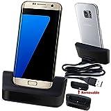 Slook Cargador Base Dock docking station + cable Para Samsung Galaxy S7 Edge S VII edge G935 G935F G935FD