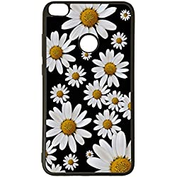 Funda de Movil Carcasa de Moviles Fundas Carcasas de TPU Compatible con el movil el movil Huawei P20 Lite Margaritas