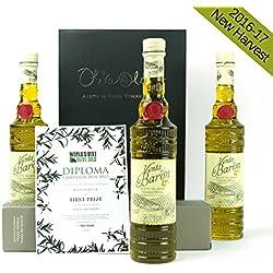 3 x Venta del Barón - Aceite de Oliva Virgen Extra Variedad Hojiblanca y Picual - DOP Priego de Córdoba - Formato Botella 500 ml por Oliva Oliva Internet S.L.