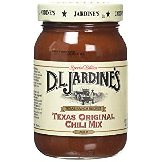 D. L. Jardine's All Natural Cowboy Mild Chilli Mix 453 g (Pack of 3)