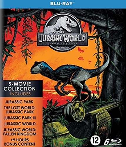 Jurassic World Collection - Coffret 5 Films [Blu Ray] [Blu-ray]