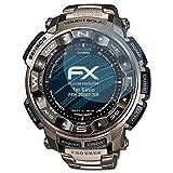 atFoliX Displayschutzfolie für Casio PRW-2500T-7ER Schutzfolie - 3 x FX-Clear kristallklare Folie