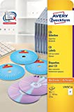 Avery Zweckform L7676-25 CD-Etiketten 25 Blatt