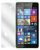 dipos Pellicola protettiva per Nokia Lumia 535 (confezione da 2 pezzi) - cristallo pellicola di protezione del display