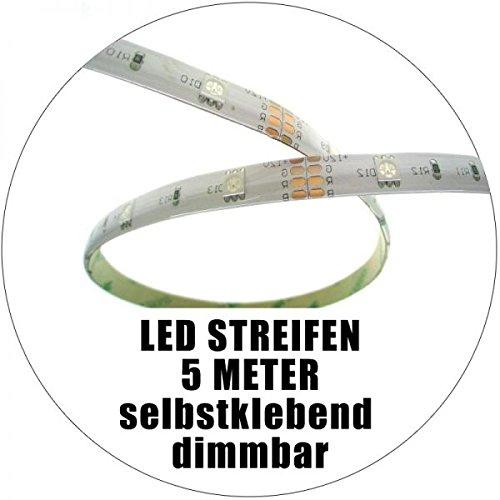 Rollo de 5m tira LED 24V IP205500K 60leds/m
