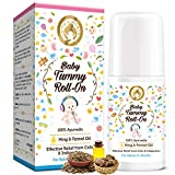 Mom & World Baby Tummy Roll On for Digestion & Colic Relief