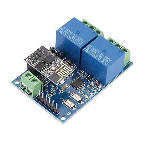 WiFi Relais - 5-Kanal-WLAN-Relaismodul mit 5 Kanälen IOT-Smart-Home-Telefon-APP Fernschalter ESP8266 -