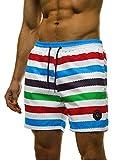 OZONEE Herren Badeshorts Kurze Hose Badehose Schwimmhose Schwimmshorts Sportshorts Shorts MAD/2945