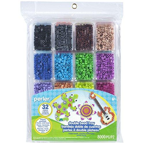 Perler Kunststoff doppelt Bead Tablett