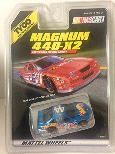 TYCO HO Scale 440x2 Pontiac Grand Prix #44 Slot Car by Tyco