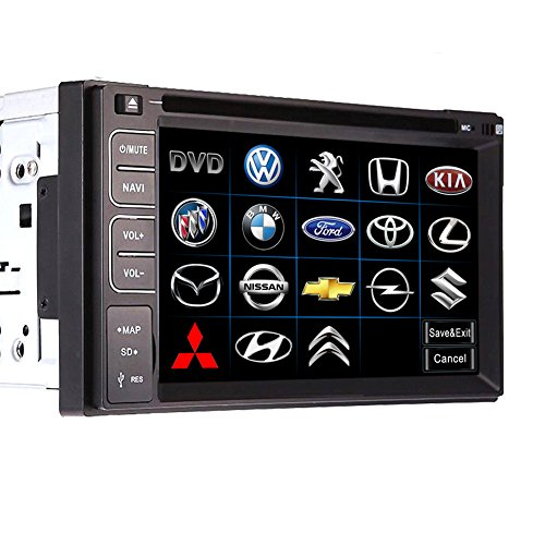Universal 2DIN 15,7cm in Dash Auto DVD-Player Radio/FM/USB/SD/Bluetooth/DVD HD Touchscreen beliebtes Funktion Haupteinheit Auto DVD/CD Player 15,7cm Doppel 2DIN HD Universal KFZ Radio Stereo Head Unit in Dash Car PC