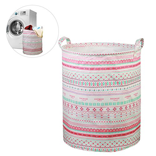 LANMOK cestos para la colada impermeable cubo plegable de ropa sucia d