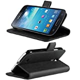 Etui Housse Luxe Stand & Portefeuille pour Samsung Galaxy S4 IV Mini + STYLET et 3 FILM OFFERT !