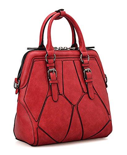 Keshi Pu Cool Damen Handtaschen, Hobo-Bags, Schultertaschen, Beutel, Beuteltaschen, Trend-Bags, Velours, Veloursleder, Wildleder, Tasche Mehrfarbig 1