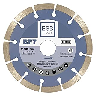 Diamond Cutting Disc Cutting Disc Sand-Lime Brick Drill BF7Diameter 125mm/22.23