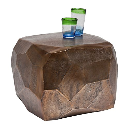Kare 78695 Table Basse Diamond cuivre 56 x 56 cm