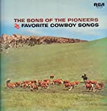 SONS OF THE PIONEERS 25 favorite cowboy songs RCA 1130 (LP vinyl record)