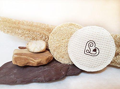 Dischetti esfolianti in fibra di Luffa