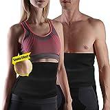 Yosoo Hot figurformender Taillengürtel/Schweißband, Neoprenmaterial, zum Abnehmen, für Herren und Damen, DHL-000198 L