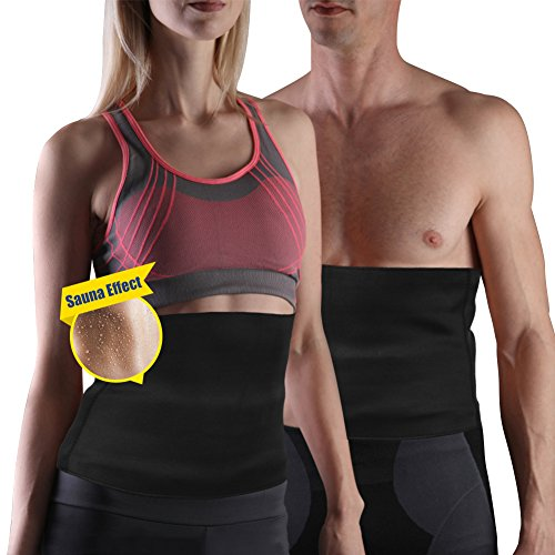 58be0aeaa Yosoo Hot Slimming Belt Waist Trimmer Ab Belt Sweat Enhancing Neoprene  Thermal Girdle Weight Loss Slimming