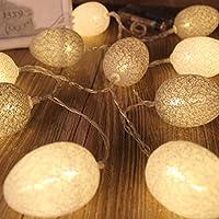 Descrizione Realizzato in cotone e plastica di alta qualità, questo tipo di lampada ha una lunga durata. La luce calda e confortevole lo rende adatto a varie situazioni, come ponti, matrimoni, camere da letto, feste, sfilate di moda, hotel, e...