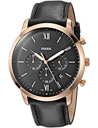 Fossil Analog Black Dial Men's Watch-FS5381