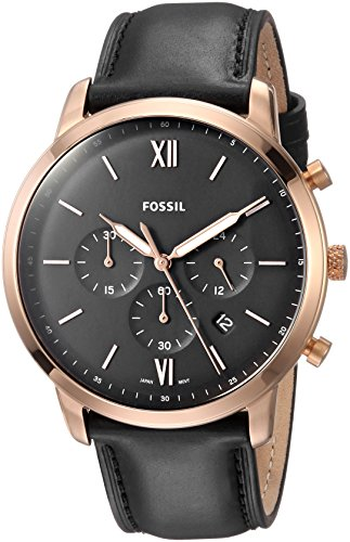 £111.20 Best Fossil Men's Chronograph Quartz Watch with Leather Strap FS5381