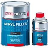 Inter troton Acrylics pluma HS 2K 5: 1–2,5l + 0,5l Endurecedor gris