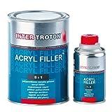 Inter Troton Akryl Füller HS 2K 5:1 - 2,5L + 0,5L Härter Grau