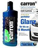 carron ® Autopolitur Lotuseffekt Hochglanz Versiegelung Autolack & Autoglas gegen