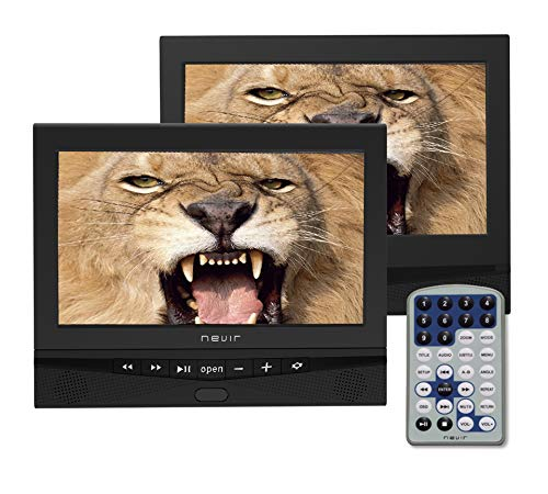 Imagen de Reproductor Dvd Portátil Para Coche Nevir por menos de 150 euros.